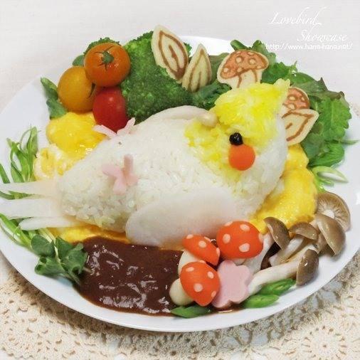 13款超仿真「萌系小鳥造型飯糰」 情侶小鳥炒麵可愛到讓人捨不得咬下去❤