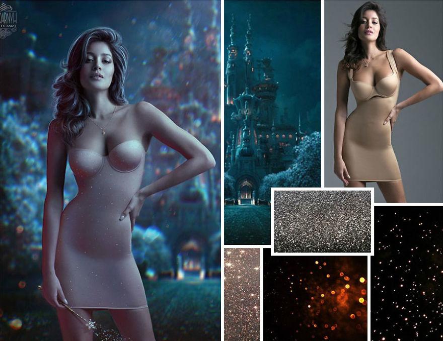 P圖神人把「廢物們湊在一起」竟變成極美海報 製作過程影片公布...比魔法還厲害!