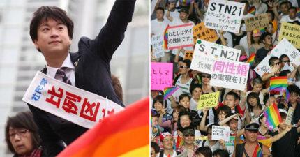 突破保守!日本選出「第一位公開出櫃」的彩虹立委 勝選承諾:讓大家「承認我們」的存在
