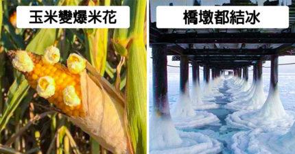 27個證明「地球正在生病」極端氣候異常照 熱浪讓拖鞋「融在原地」!