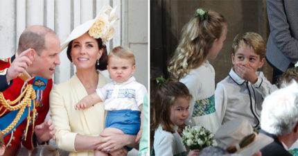 15個「皇室寶寶變全場焦點」的超萌瞬間 喬治小王子根本是天生表情包!