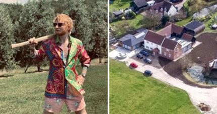 紅髮艾德豪宅被鄰居「狂投訴太吵」 他一怒之下決定「通通買下來」讓他們全閉嘴!