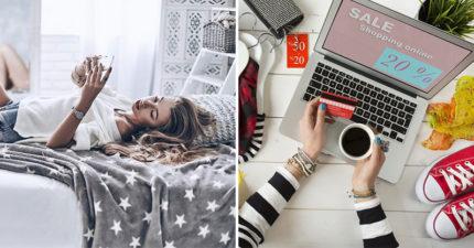 研究發現「網路購物」快樂指數超級高 連領薪水都沒有「躺著花錢爽」!