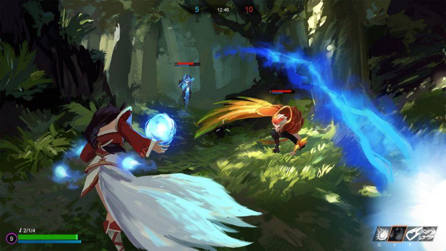 超有才台繪師畫出「CS版《英雄聯盟》」 超美畫面+細膩設計玩家全瘋了:跪求引進!