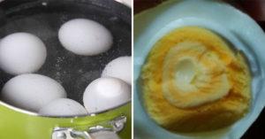 他見水煮蛋有「一圈圈年輪」嚇壞 發文求助釣出「超專業解答」:活到今天才懂!