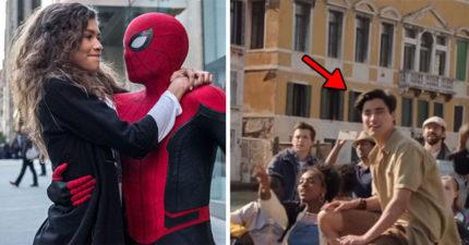 《蜘蛛人:離家日》「帥哥情敵」原來是混血天菜!網友一看「真實年齡」嚇呆:不可能