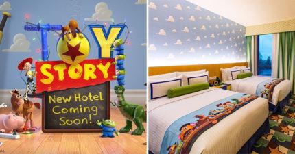 東京迪士尼「豪砸315億」蓋《玩具總動員》主題飯店 2021年就可入住「安迪的房間」!