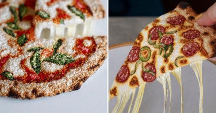 這並不是披薩!逼真度被16萬人狂讚 「納豆飯」讓網友超震驚:近看不得了