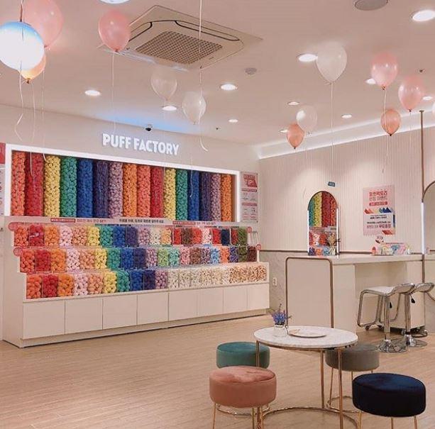 韓國最夯網美打卡店!一進門「整面彩虹牆」超壯觀 還能用「超Q雞蛋盒」帶回家❤