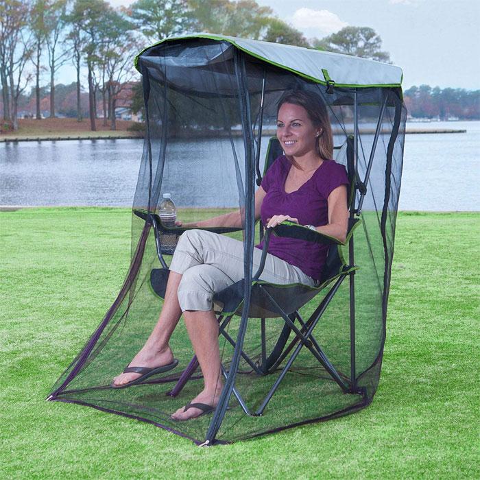 夏天必備「超猛蚊帳椅」功能太實用 網見「收納後」的效果大讚:去海邊必帶!