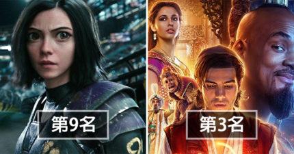 2019上半年「最賣座電影」TOP10!迪士尼變「電影界老大」第4名卻跌破眼鏡