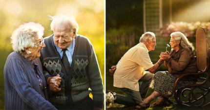 15張證明「愛情走到盡頭更完美」的高齡放閃情侶 看完讓你重新相信愛!