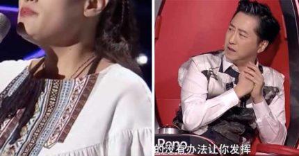 台灣金曲歌后登《好聲音》竟「沒導師轉身」!現場觀眾傻眼...他曝「被秒淘汰」黑幕真相