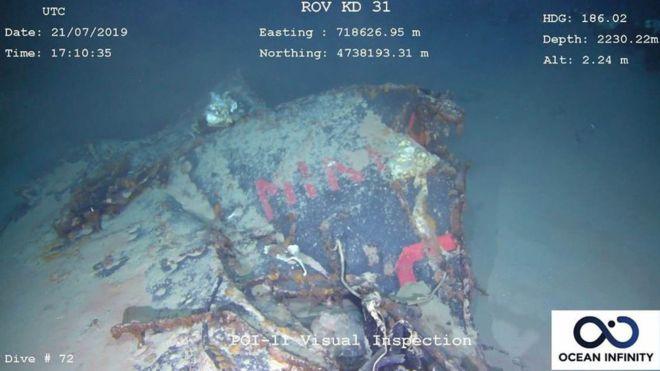 法國潛艇「失蹤51年」總算被尋獲 家屬「苦等半世紀」終於讓家人回來團圓QQ