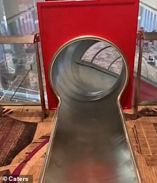 新加坡樟宜機場推「光速登機」超狂設備 高速溜滑梯「瞬間移動」再也不怕遲到!