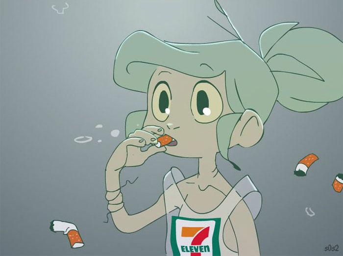 如果小美人魚活在現代會怎樣?他畫出8張「超離譜生活」震驚全網:都是人類的錯…