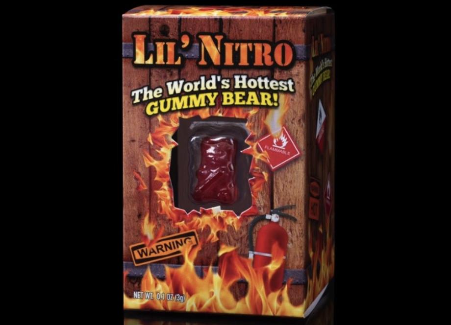 國外推「世界上最辣的」小熊軟糖 一秒讓你體驗「升天」的感覺!