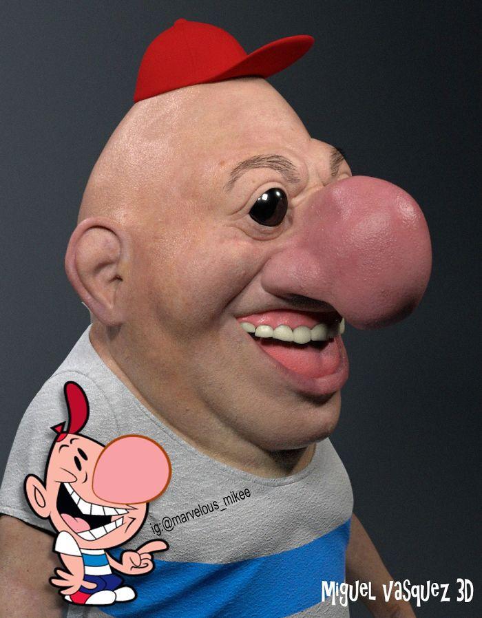 16個「怪不得人類想逃避現實」的3D寫實卡通!看完《辛普森家庭》真的要去收驚