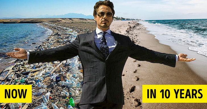 小勞勃道尼戲外也在拯救世界!發起「10年救地球」秘密計畫:將利用《鋼鐵人》技術