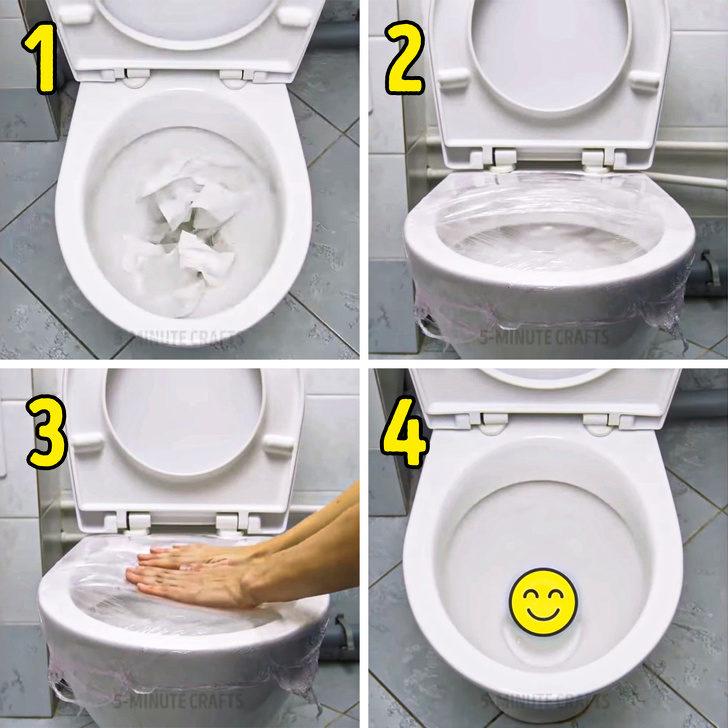 9個「水電工絕對不會告訴你」的省錢DIY招數 用「保鮮膜」通馬桶最方便!