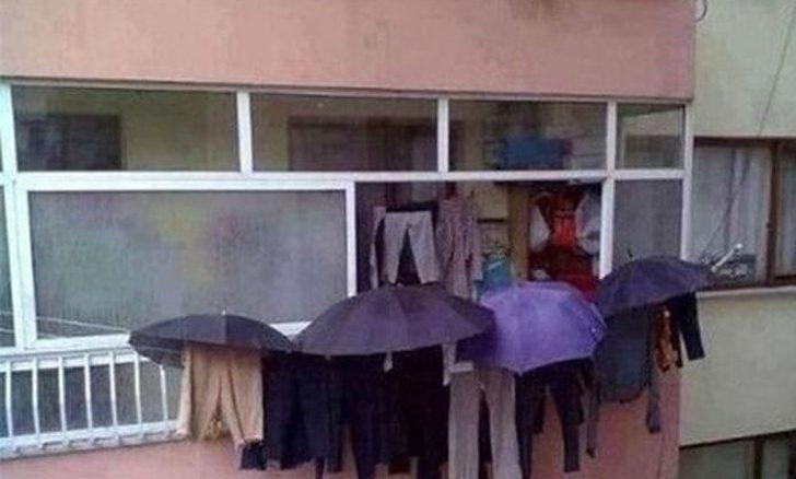 20個人類「才沒有你想的那麼笨」的超天才案例 下雨天「也能曬衣服」的方法太簡單!