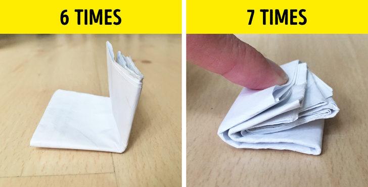 10個只有「頂尖人類才能做到」的超難挑戰 A4紙不可能對折8次!
