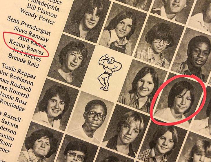 19張「平凡人一生幾乎沒機會看到」的驚人照 老媽竟然是「基努李維」的同學!