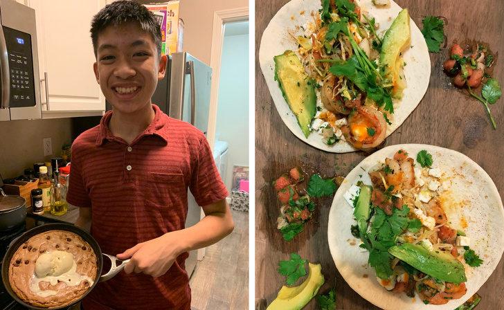 14張讓你「看見真愛」的超溫馨暖心照 弟弟幫老姐做「交往週年大餐」比餐廳還專業!