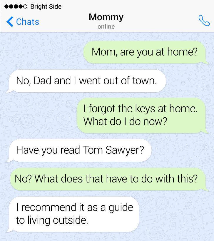 11則「把屁話當才能」的爆笑簡訊 被問「有男友嗎」她:看定義是什麽!