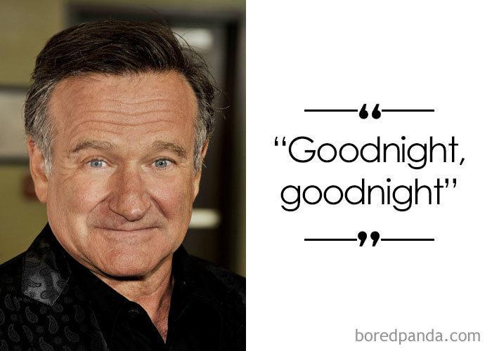 38位名人們「臨終前」的最後一句話 羅賓威廉斯說「晚安」後…再也沒醒來