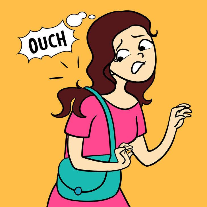 20件「讓女生一秒崩潰」的煩惱日常 內衣裡的「迷你劍」是所有女生的痛!
