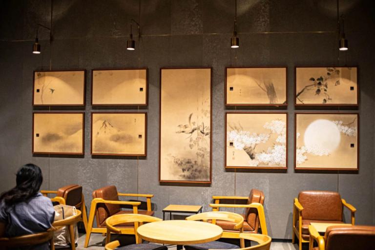 日本超有fu的「地表最禪」星巴克!室內「時代感石頭造景」網:這是佛寺吧