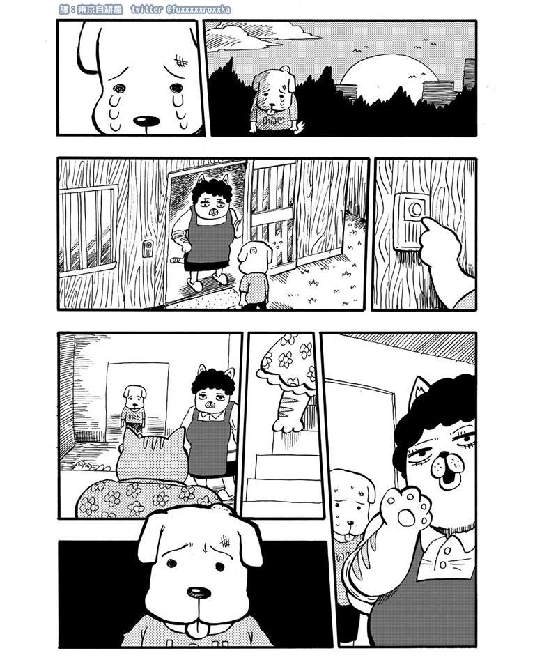 不良少年跟狗在路邊相遇 超神劇情大轉折...網友「邊哭邊傻眼」:到底看了三小?