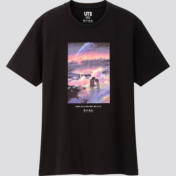 Uniqlo聯名新海誠「T恤樣式公開」!重現超唯美《你的名字》髮帶、名畫面...網:這次真的美