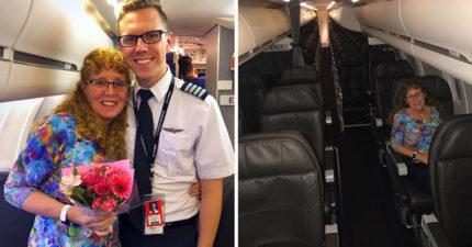 她為了搭兒子開的飛機 「苦等7小時」最後結局超展開…網友全淚崩!
