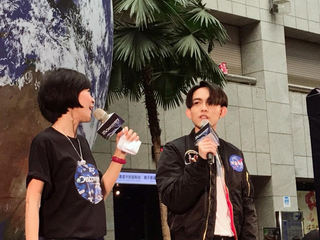 影/林宥嘉化身Discovery「天文導覽員」 他太失望「蛤」出聲…兒子直接大爆哭!