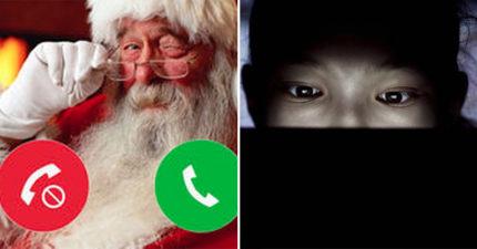 8歲女孩玩「聖誕老公公聊天APP」討拍 意外收到「超噁4字回覆」媽媽嚇壞!