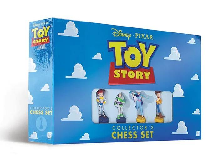 遊戲公司推「玩具總動員」超萌象棋組 角色「分2派」粉絲:誰可以吃掉叉奇?