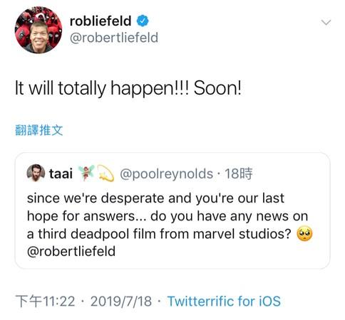 《死侍3》有望開拍!作者親自證實「第3集很快會出現」 網樂翻:這是漫威彩蛋?