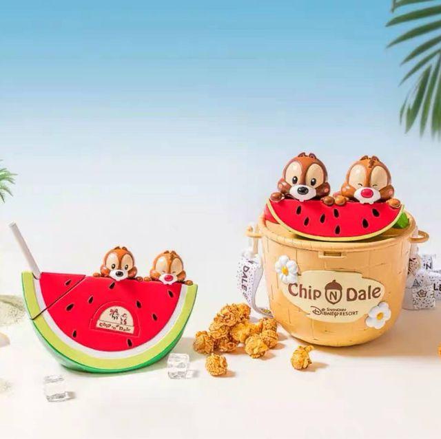 迪士尼限量「奇奇蒂蒂米花桶」被搶翻 環保杯是「一片西瓜」太可愛:訂機票!