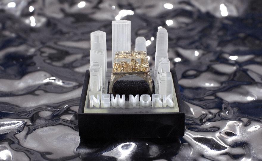 不能出國就把「百年世界名城」戴在手上!放大看連摩天輪都有