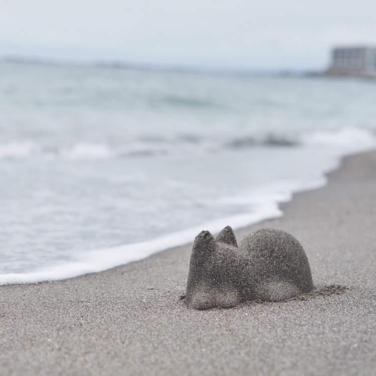 可無限複製貓咪的「萌貓塑型杯」 海邊出現「喵星人山丘群」讓奴才秒暴動❤