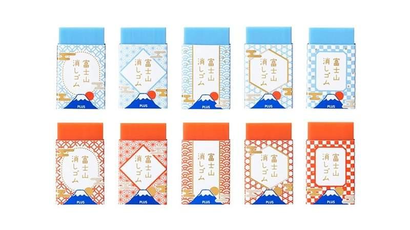 日本超可愛小物「富士山橡皮擦」!用久了就會「慢慢出現」越擦越美:2019必買伴手禮❤