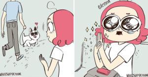 13個漫畫家幻想「如果有養寵物」該有的溫馨日常