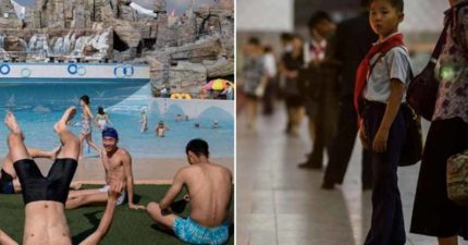 外國攝影師揭開「北韓的暑假」長什麼樣子 網看「水樂園」超震驚:想揪團去玩