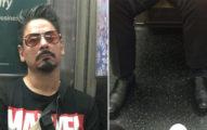 21張「在地鐵上遇到的」最怪奇畫面!第一次看到有人這樣用Apple耳機...
