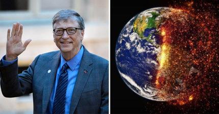 地球不能毀滅!比爾蓋玆贊助「把太陽變暗」計劃 網看到「後續影響」嚇壞:拜託不要