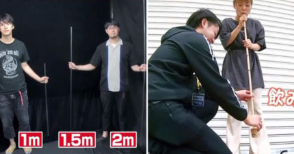日節目實測「珍奶吸管的極限」引熱議 網看「3公尺吸管」測試結果後秒懂:跟長度無關?