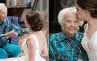 時間緊迫!新娘穿未完成嫁衣前去找奶奶 婚禮當天家人全哭了