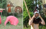 重現詭異中古世紀畫作:3D化後變得慘不忍睹?捉姦在床太寫實!